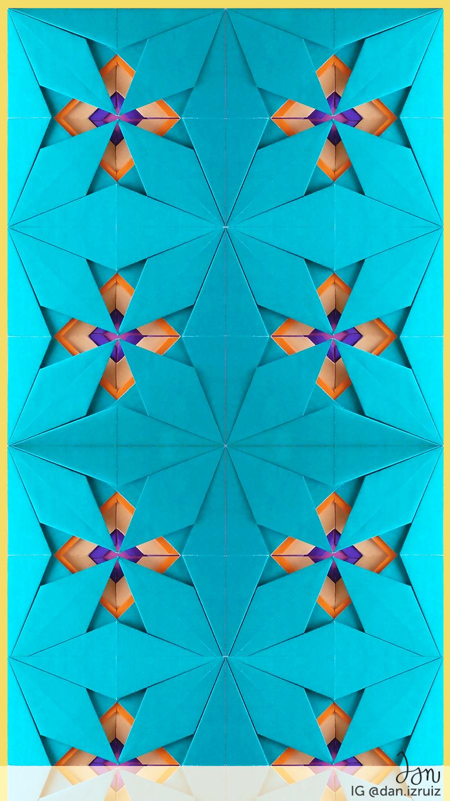 phone wallpaper origami
