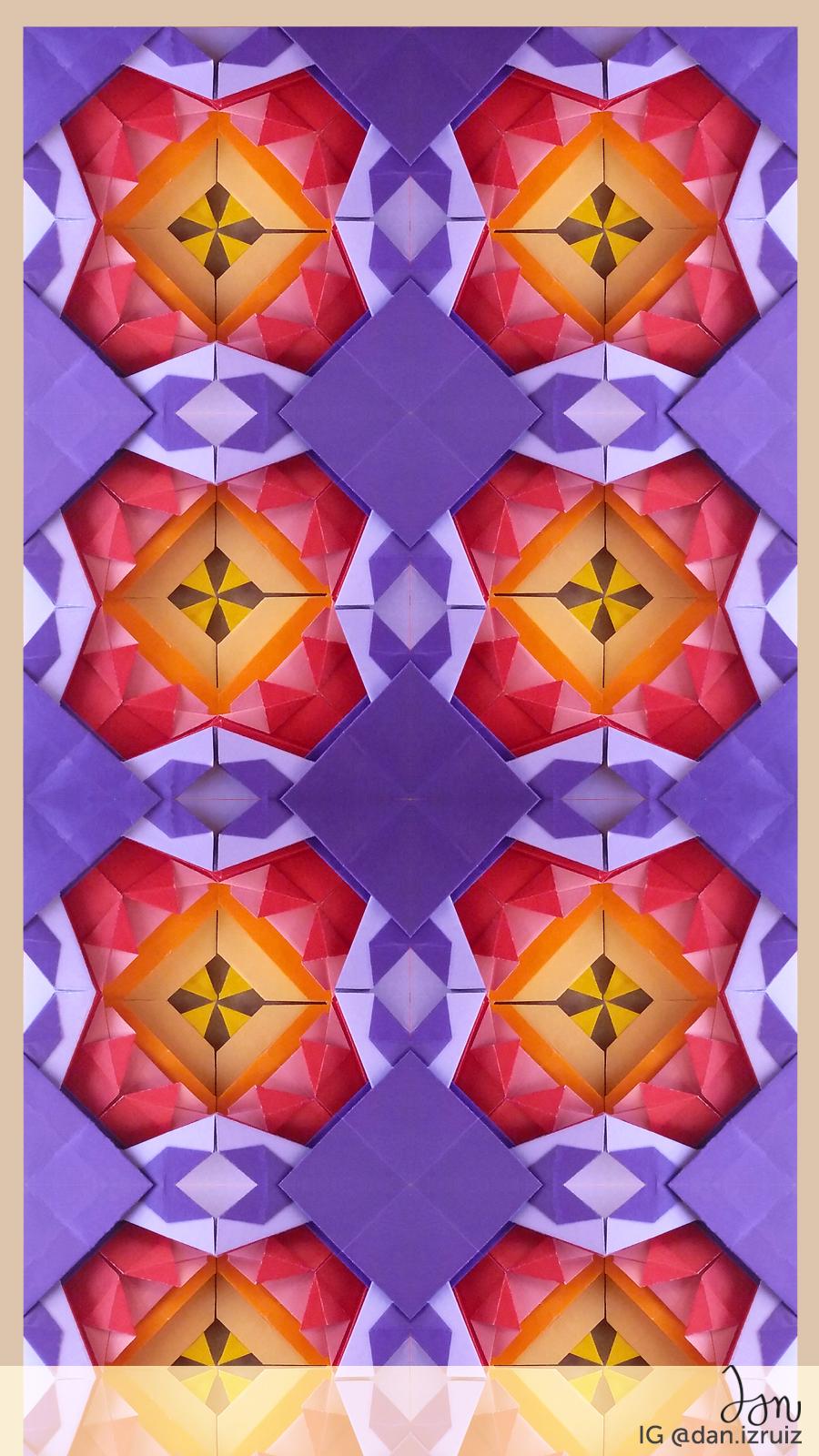 Origami phone wallpaper